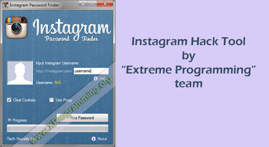 Instagram Hack Tool by Extreme Programming